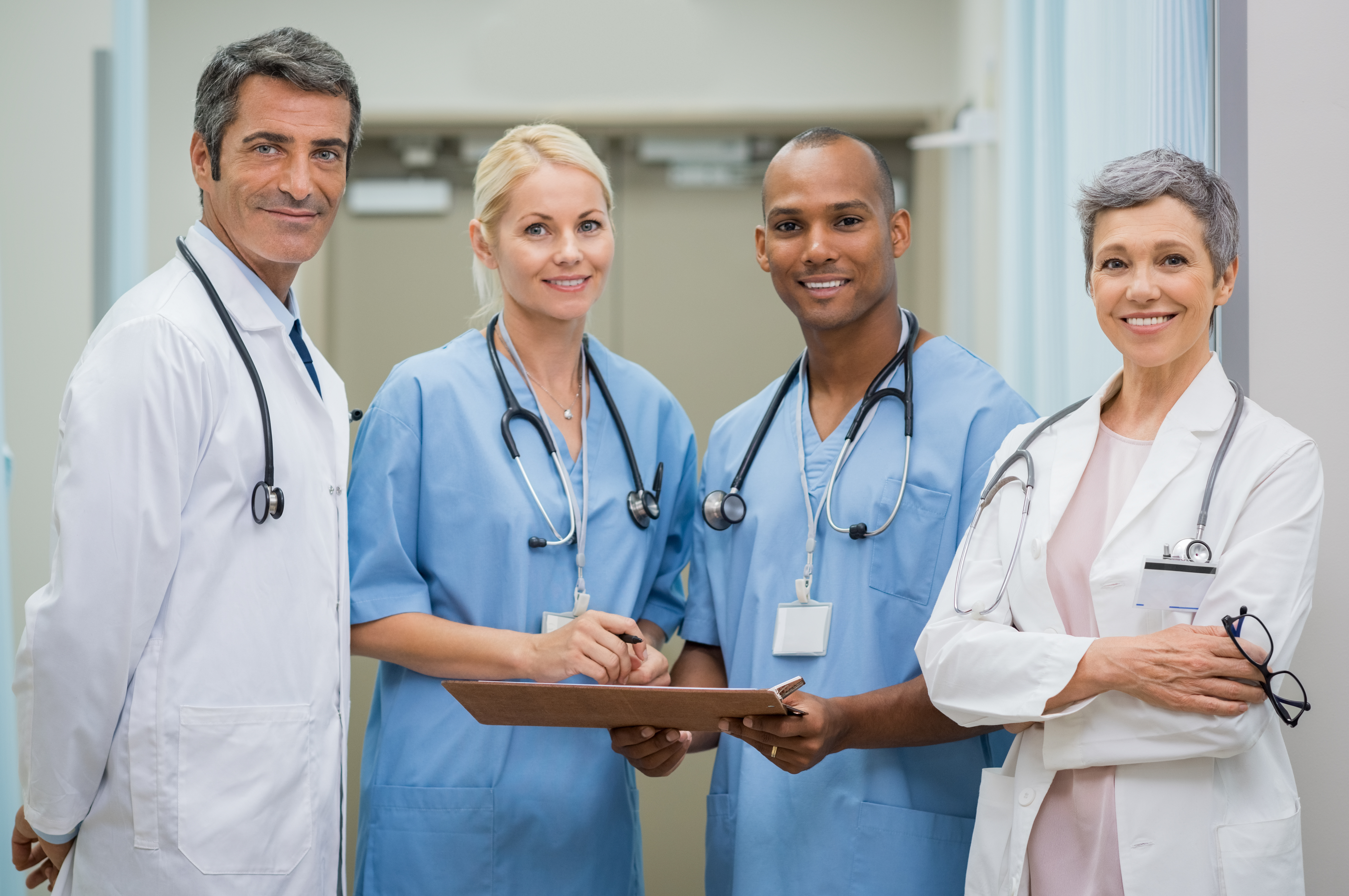 team of multi-specialty doctors